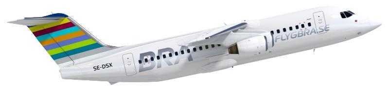 BRA Flygplan AVRO RJ 100_5